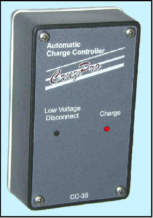 CC35 Eight Amp Smart Charge Controller/Regulator With LVD