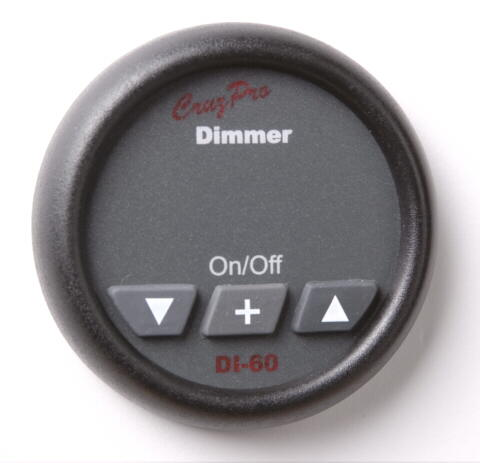 DI60 light dimmer and speed controller