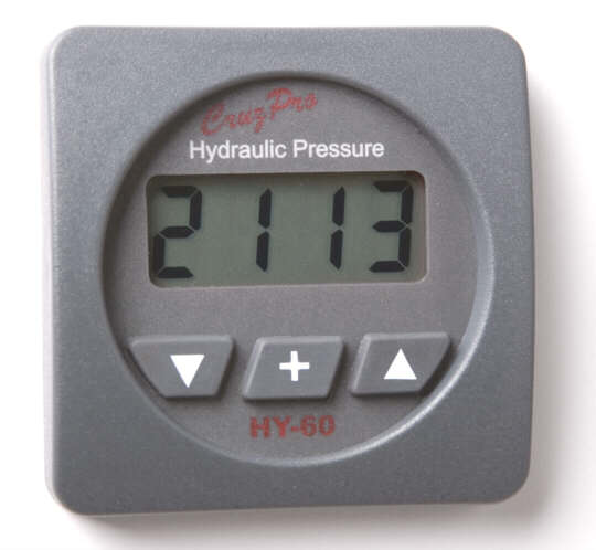 HY60 square bezel digital hydraulic pressure gauge