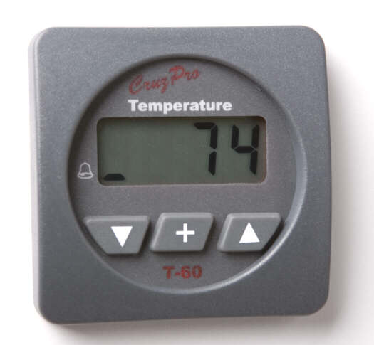 T60 Digital Water Temperature Gauge and 		Alarm